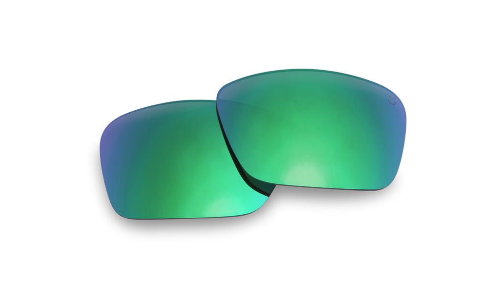 Frazier Replacement Lenses-Happy Bronze Polar W/Green Spectra Mirror - Surf N' Wear Beach House Online