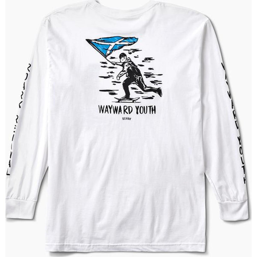 Wayward Youth Long Sleeve Staple Tee