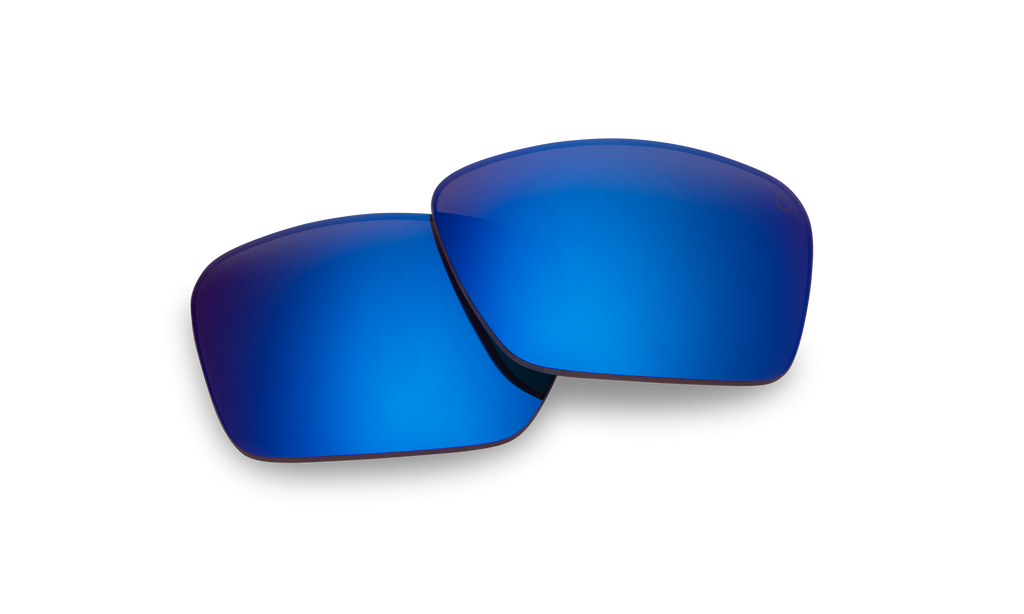 Frazier Replacement Lenses-Happy Bronze Polar W/Dark Blue Spectra Mirror - Surf N' Wear Beach House Online