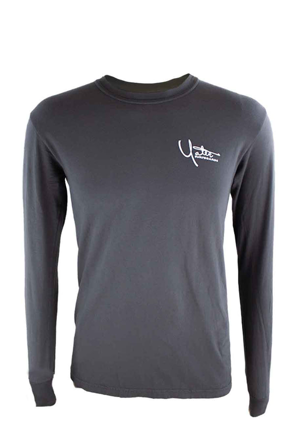 Premium Long Sleeve T-Shirt Distressed Santa Barbara Surf Shop Logo - Surf N' Wear Beach House Online