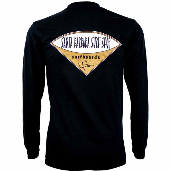 Long Sleeve T-Shirt Santa Barbara Surf Shop Logo - Surf N' Wear Beach House Online