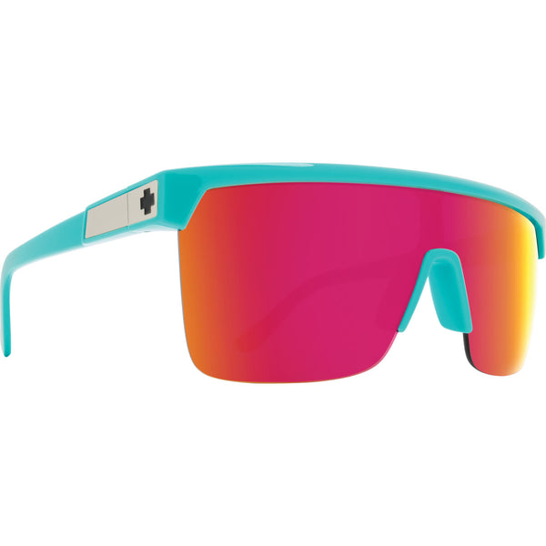 Flynn 5050 Teal - HD Plus Gray Green with Pink Spectra Mirror