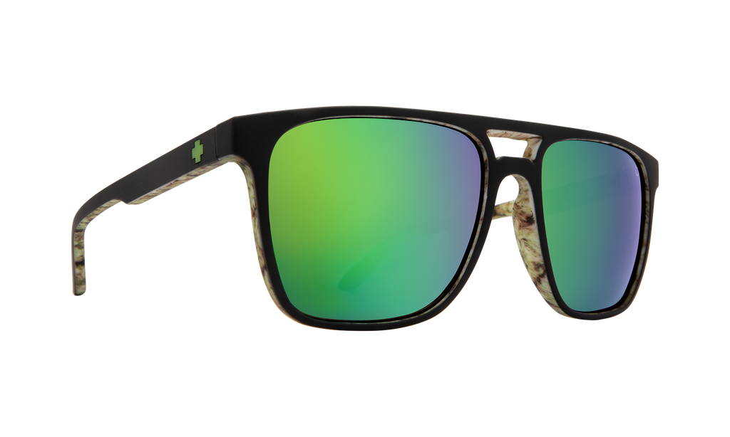 Czar Matte Black/Kushwall - HD Plus Bronze W/Green Spectra Mirror - Surf N' Wear Beach House Online