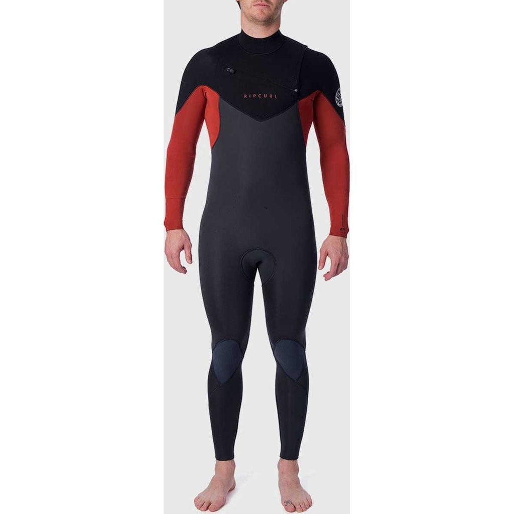 Dawn Patrol 4/3mm Chest Zip Wetsuit in Burnt Orange