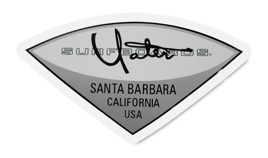 Yater Surfboards  Sticker - Surf N' Wear Beach House Online