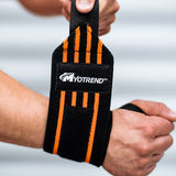 STRIPED WRIST WRAPS
