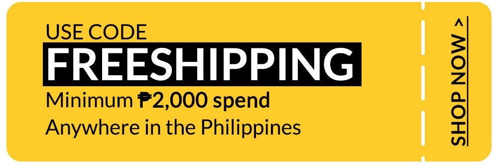 FREE SHIPPING Anywhere in the Philippines