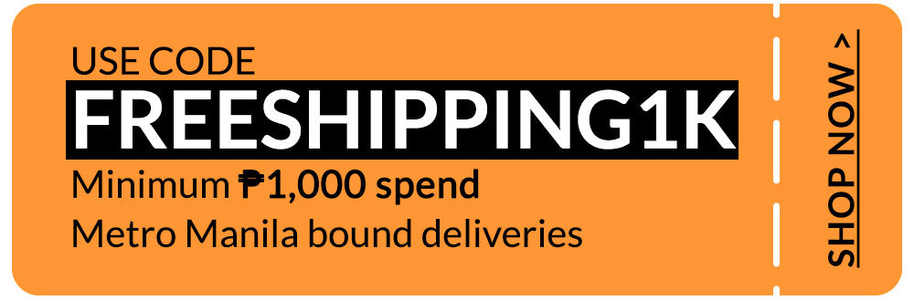 FREESHIPPING1K - Free Shipping for Metro Manila