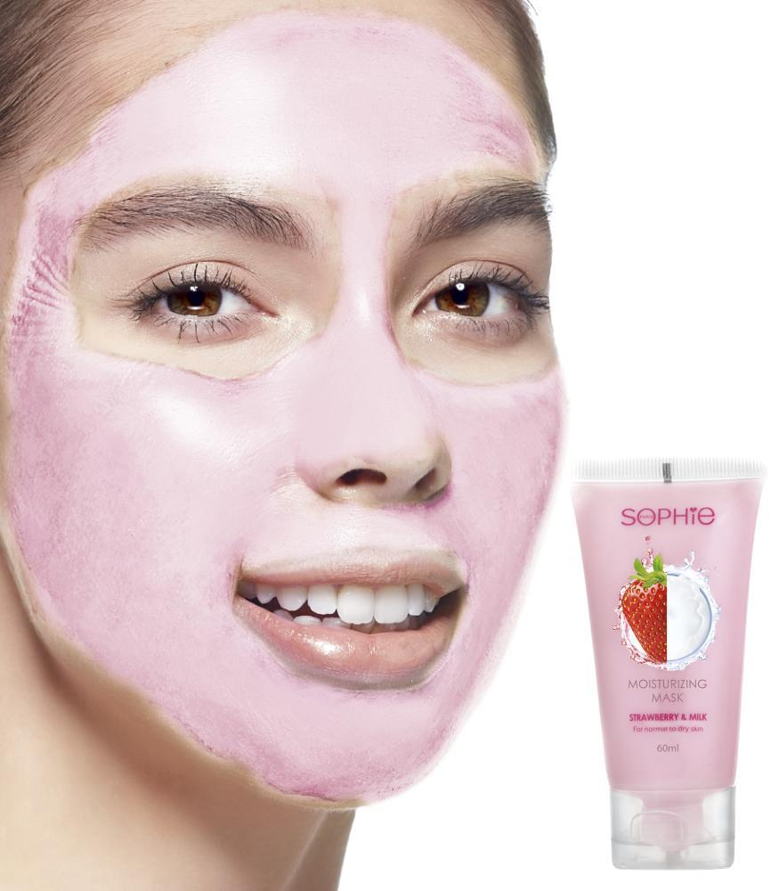 Sophie Paris Strawberry Milk Face Mask - OOLALA
