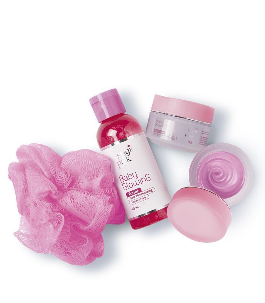 Magic Pink Baby Glowing Kit - OOLALA
