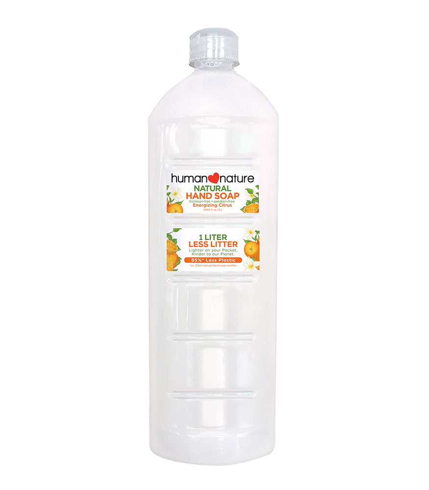 HUMAN NATURE Hand Soap 1 Litre Energizing Citrus Shop Authentic at OOLALA.PH