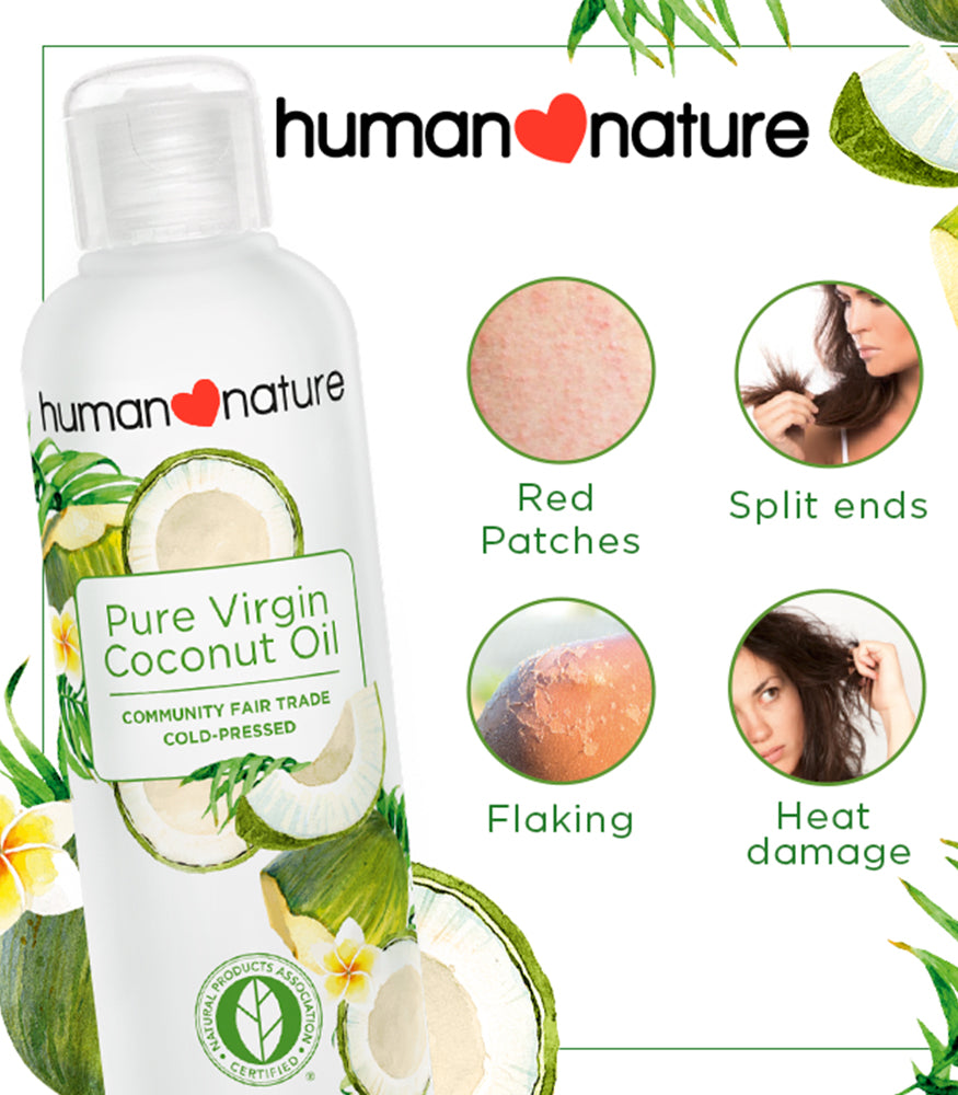HUMAN NATURE Pure Coconut Oil 200ml Shop Authentic at OOLALA.PH