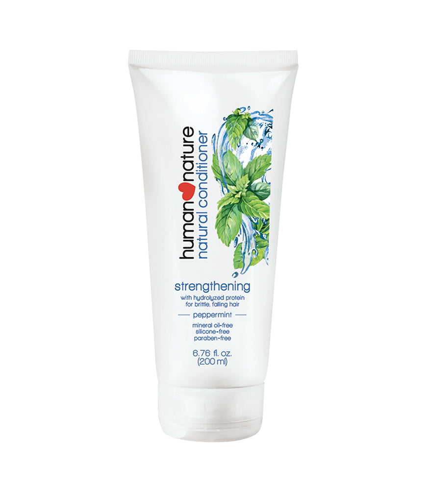 HUMAN NATURE Strengthening Conditioner in Cool Peppermint