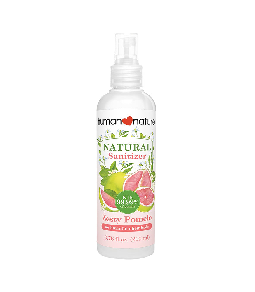 HUMAN NATURE Natural Hand Sanitizers in Zesty Pomelo