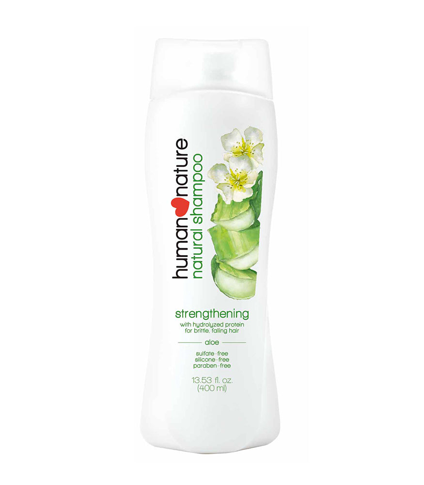 HUMAN NATURE Strengthening Shampoo in Soothing Aloe