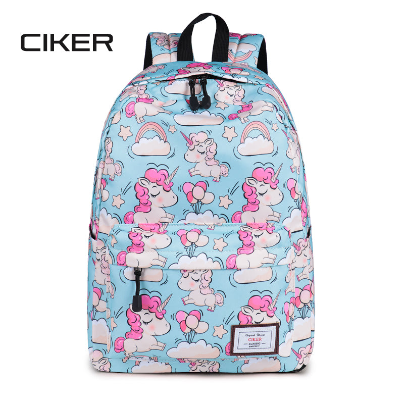 0571121383a5 Lovely Unicorn Printing Backpack Women Waterproof School Bags For Teenagers  Ladies Casual Cute Rucksack Bookbags Machilas