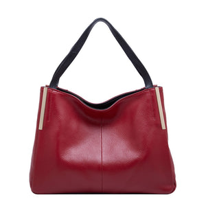 dd592c42e4 Luxury Handbags Women Bags Designer Genuine Leather Shoulder Bag 2018 Top-Handle  Bag Female Shopping