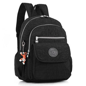 Tibes Small Daypack Casual Waterproof Backpack for Women//Girls Black