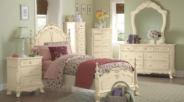 QFMZ-1386T | Victorian Cinderella Youth Bedroom