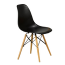 "QFIF-1420 | 20""L Black Eiffel Chair"