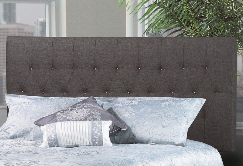 QFTT-R147 | Elegant with bronze or silver nailheads Adjustable Headboard