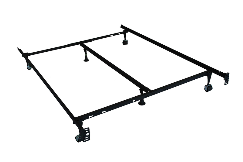TSIF-16F | 4 Wheels/2 Glides/ 1 Center Support Adjustable Bed Frame