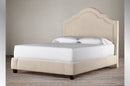 TSTT-R184 | Beveled-cut top Headboard, Bed and Drawer