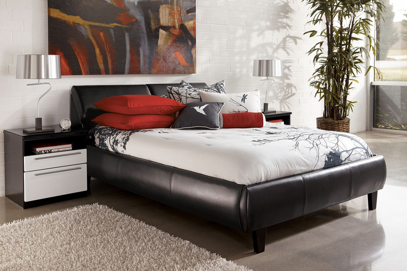 QFIF-193B | Black with Storage Bed