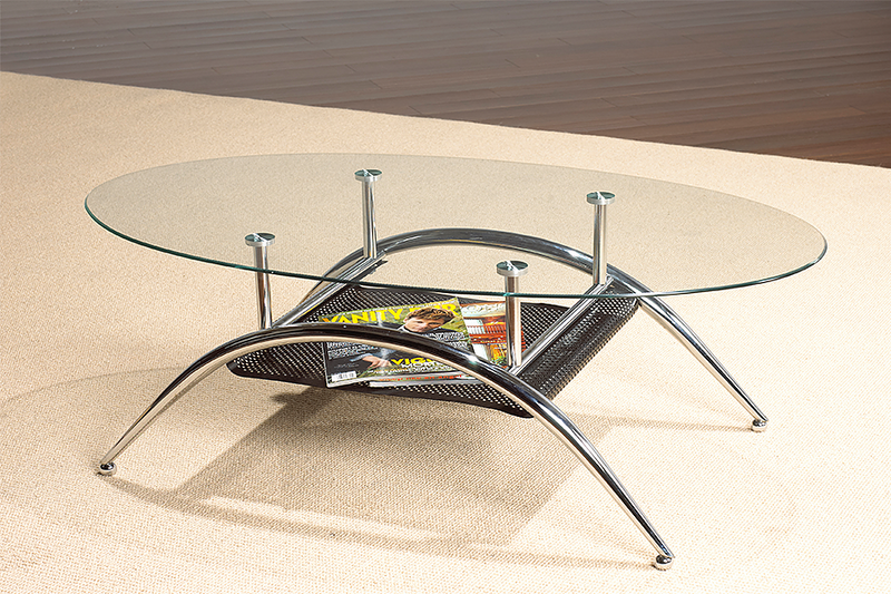 QFIF-2001 | Chrome Coffee Table
