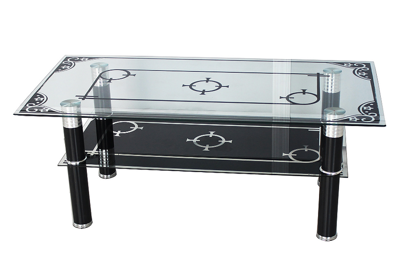 QFIF-2042 | Tempered Glass Coffee Table