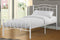 QFTT-T2300 | Twin White Powder Coated Finish Bed