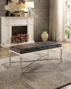 QFMZ-4506PU | Crocodile Leatherette Bench