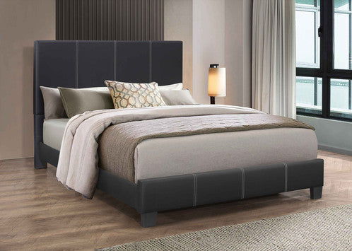 QFIF - 5470 Black PU Bed