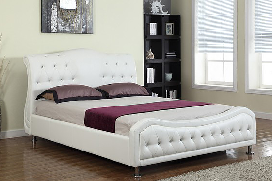 QFIF-5835 | White with Crystals Bed