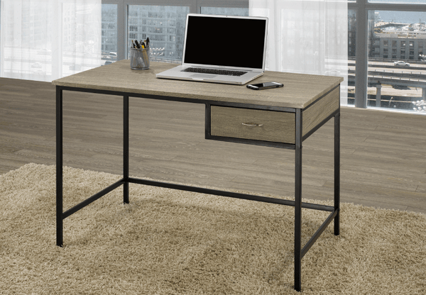 QFTT-T905 | Distressed Grey Finish Desk