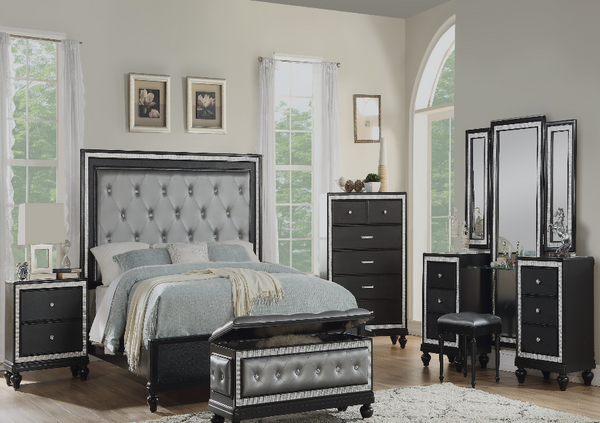 QFGX - Amity Dark Bedroom Set