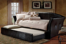 QFIF-315B | Black Pull-out Trundle Bed