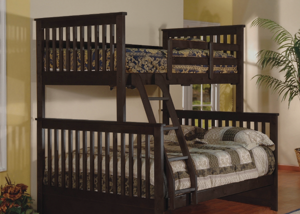 QFGX - Highlife Espresso Kid's Bunk Bed