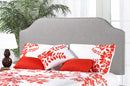 QFTT-R134 | Linen-style upholstered Adjustable Headboard