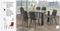 QFIF - T-1449/ C-1711 7pc Dining Set