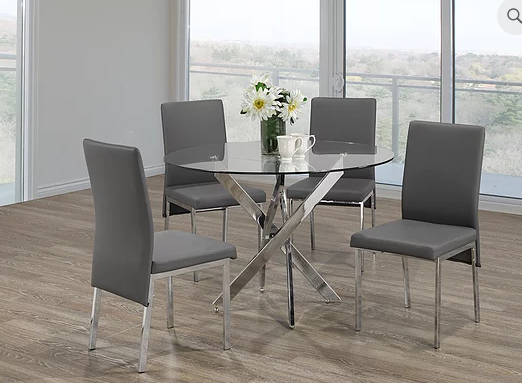QFIF - T-1447/ C-5065 5pc Dining Set