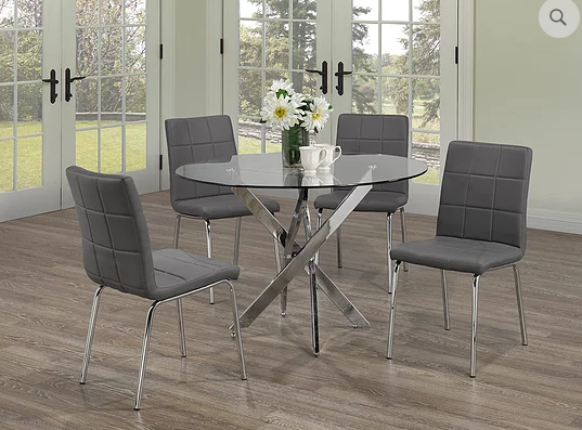QFIF - T-1447/ C-1762 5pc Dining Set