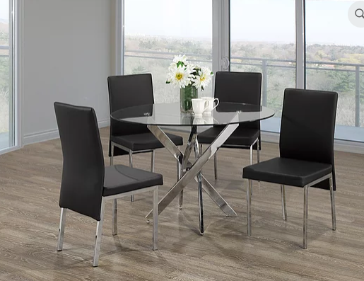 QFIF - T-1447/ C-5063 5pc Dining Set