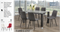 QFIF - T-1449/ C-1713 7pc Dining Set