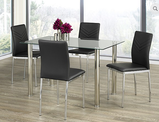 QFIF - T-1460/ C-1470 5pc Dining Set
