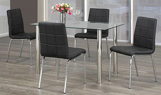 QFIF - T-1460/ C-1760 5pc Dining Set