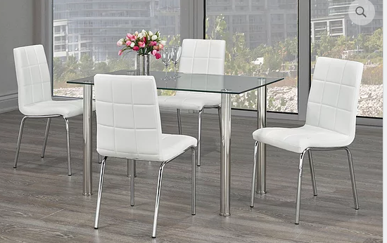 QFIF - T-1460/ C-1761 5pc Dining Set