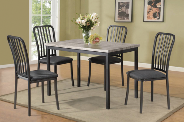 QFTT-T3721 | 5pc Industrial Flair Dining Set