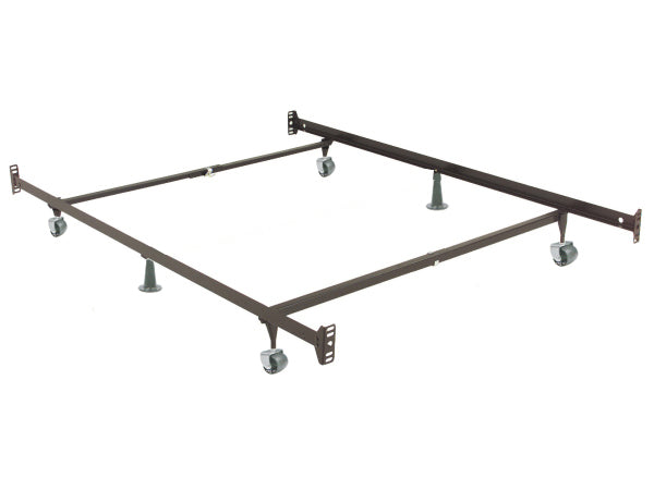 QFTT-T55 | 39″/54″ Double-Ended Adjustable Bedframe (4 Wheels, 2 Glides)