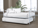 QFIF-316 QFIF-316-TR-WH | White Trundle Bed